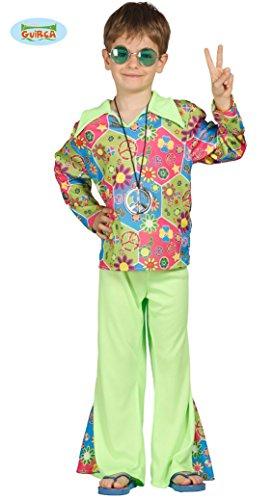 Guirca - Disney Hippie Kostüm Kinder 10/12 Jahre, Mehrfarbig, 10-12 (142-148 cm), 85605