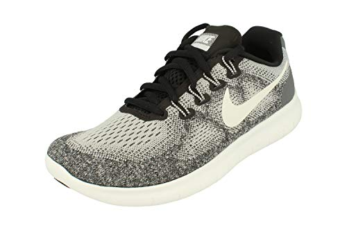 NIKE Womens Free RN 2017 Running Trainers 880840 Sneakers Shoes (UK 5.5 US 8 EU 39, Wolf Grey White 002)