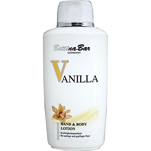 Bettina Barty Vanilla Hand & Body Lotion (500ml Flasche)