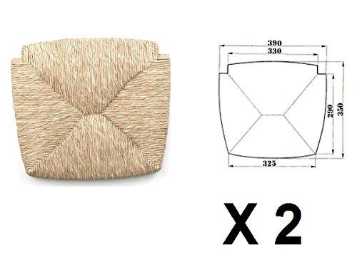 Sedute impagliate (mod. 1212 venezia) Ricambi per sedie [Set di 2]
