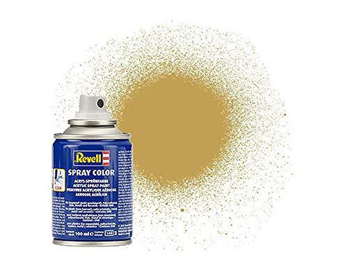 Revell 34116 Spraydose sand, matt Spray Color, Farben in der praktischen 100-ml-Sprühdose