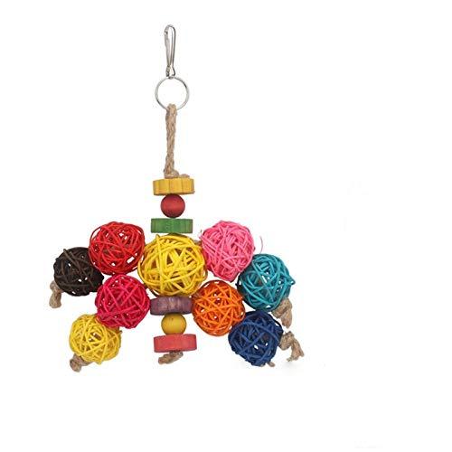 ZYHWS Juguetes de loros y accesorios para pájaros para juguetes de mascotas Swing Stand Perakeet Cage África gris (color: 33)