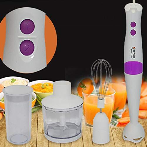 XUDREZ Hand Blender met Klop, Stick Blender voor Soep, Smoothies en babyvoeding, Sauzen en Maken Zeep