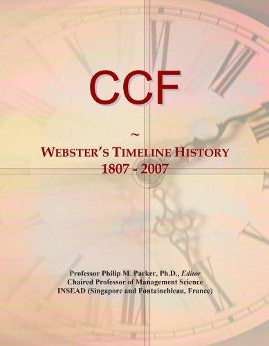 CCF: Webster's Timeline History, 1807 - 2007