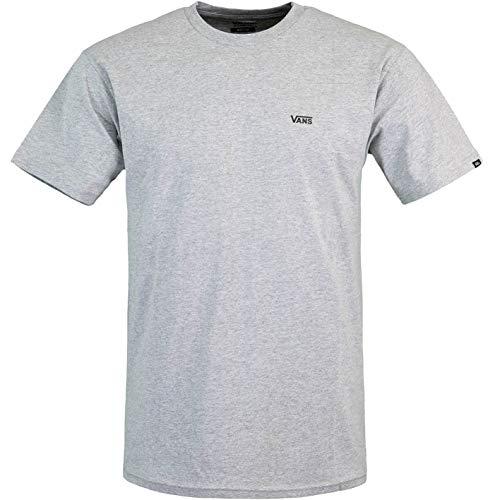 Vans Left Chest Logo - Maglietta da uomo, grigio., L