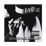 Jay-Z's Albumcover – Angemessene Zweifel Leinwand Poster