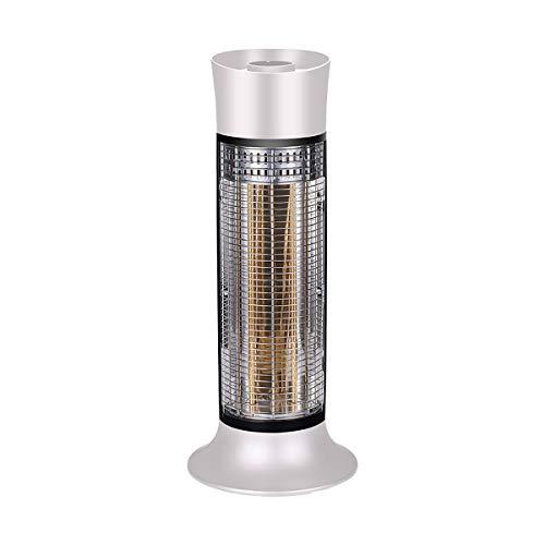 GAYBJ Calentador de Ventilador portátil, Fibra de Carbono Calentador eléctrico 450 / 900W, Fast calefacción Regulable Termostato, Cubierta del Calentador de Espacio,B