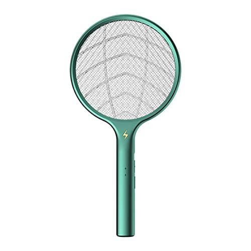 Libartly Matamosquitos Eléctrica Montada En La Pared Lámpara Asesina De Mosquitos Doméstica Dos En Uno para La Madre Y La Trampa De Mosquitos Interior - Verde