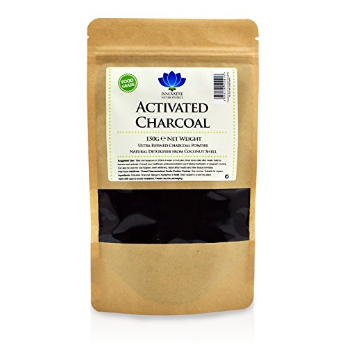 Activated Charcoal - Food Grade - for Teeth Whitening & Detox (150g)