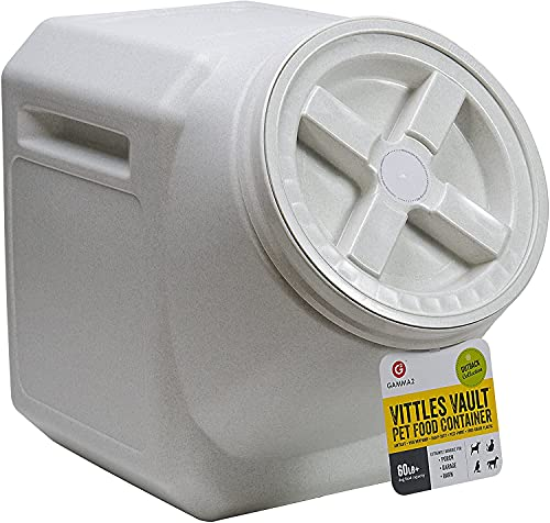 Gamma2 Vittles Vault Outback Airtight Pet Food Container, 60 Pounds