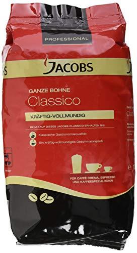 Jacobs Professional Classico Kaffeebohnen ganze Bohne kräftigvollmundiger Geschmack, Kaffee, 1000 g