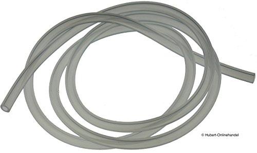 2m Silikonschlauch Milchschlauch (4,98€/m) passend für Krups Nespressoautomaten | BPA-frei*