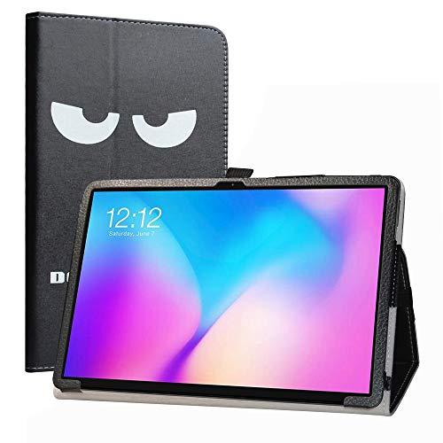 LiuShan Compatible con TECLAST T30 Funda, Folio Soporte PU Cuero con Funda Caso para 10.1' TECLAST T30 Tablet(No es Compatible con 10.1' TECLAST M30),Don't Touch