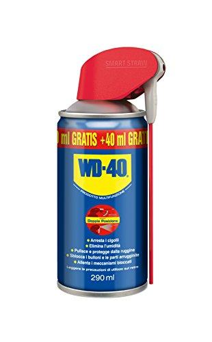 Idrorepellente: elimina rapidamente l'umidità dai corti circuiti Anticorrosivo: la pellicola formata da WD-40 garantisce una protezione contro l'acqua, umidità, gelo e relativi effetti corrosivi Lubrificante: uno dei principali componenti WD-40 è un ...