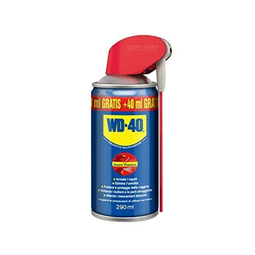 WD-40 Prodotto Multifunzione - Lubrificante Spray con Sistema Professionale Doppia Posizione - 250 ml + 40 ml