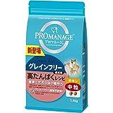 プロマネージ ドッグフード 成犬用 高たんぱくレシピ 中粒 チキン 1.4kg