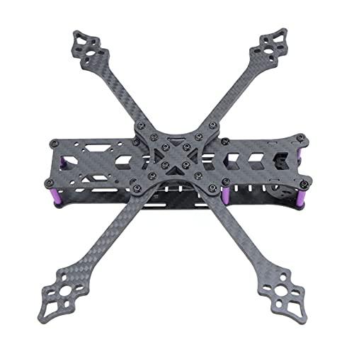 VIKEP HX230 X250 FPV. Kit Cornice in Fibra di Carbonio Adatta FPV. unità Aerea RC. Drone FPV. da Corsa (Color : HX230)
