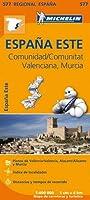 Comunidad Valenciana, Murcia - Michelin Regional Map 577: Map (Michelin Regional Maps)