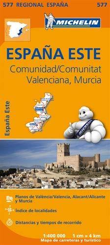 Mapa Regional Comunidad Valenciana, Murcia (Carte regionali)