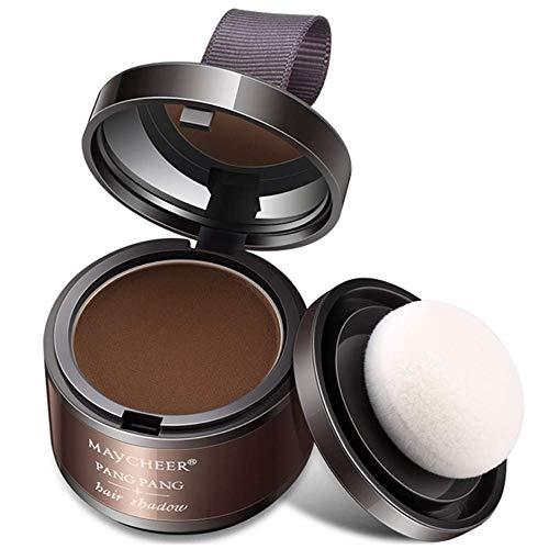 FDGDFG Polvo para peinar el Cabello con Volumen, Polvo mágico y Esponjoso para el Cabello Fino Línea de Cabello Maquillaje de Sombra Corrector de Cabello Cubierta.