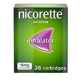 Nicorette Inhalator, 15 mg, 36 Cartridges (Quit Smoking & Stop Smoking Aid)