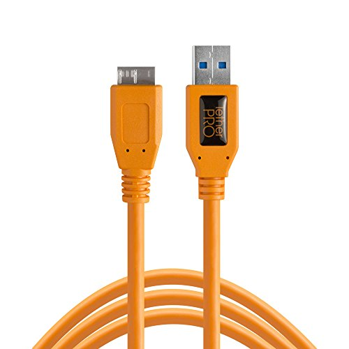 Cavo USB Tether Tools TetherPro USB 3.0 A/Micro B 4,6m orange [CU5454]