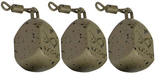 Fox Matrix Bottle Bomb MK2 - 3 Angelbleie zum Angeln auf Friedfische, Bleie zum Friedfischangeln, Grundbleie zum Karpfenangeln, Gewicht:17.5g