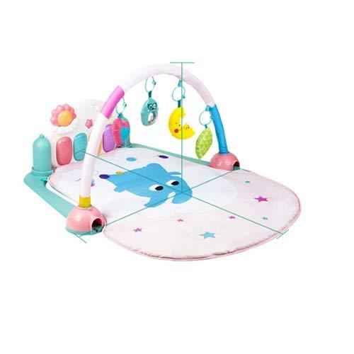 Lihgfw Spielmatte, Music Fitness Rack, langlebiges tragbares Pedalpiano, kann die Neugier von Babys von 0-36 Monaten sicher kultivieren (Color : Multi-Colored)