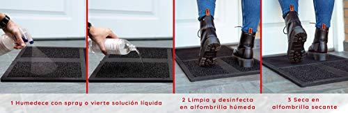 RESPO-DISPO Felpudo Desinfectante, Alfombra Desinfectante para la Entrada Alfombra Limpia Pies Alfombra para Pies Casa Felpudo Entrada Casa Alfombra Limpia Zapatos Desinfectante