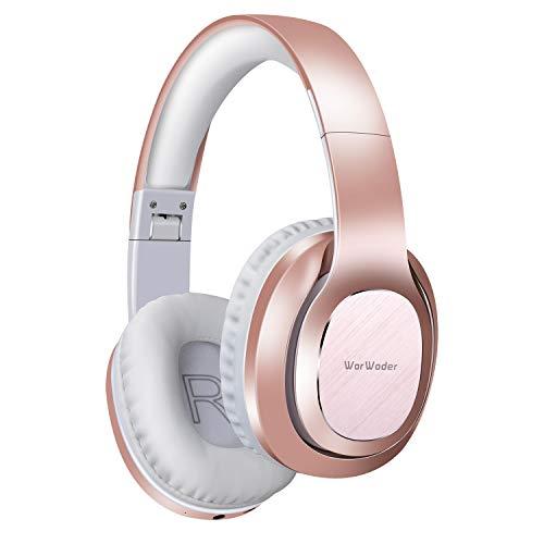 WorWoder Bluetooth Headphones Over Ear, [50 Hrs Playtime] Wireless...