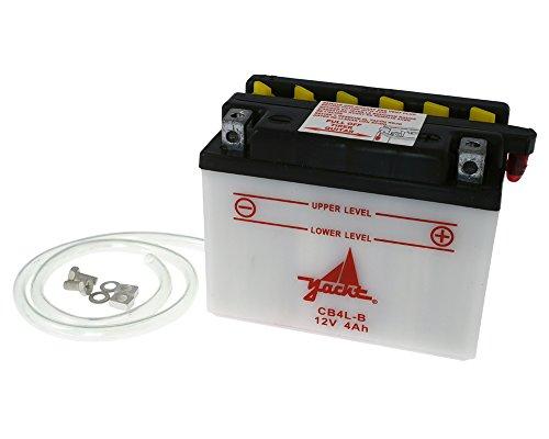 YACHT CB4L-B / YB4L-B 12 Volt Batterie für Piaggio NRG mc3 50, NRG Power 50, NTT 50 (inkl. 7,50€ Batteriepfand)