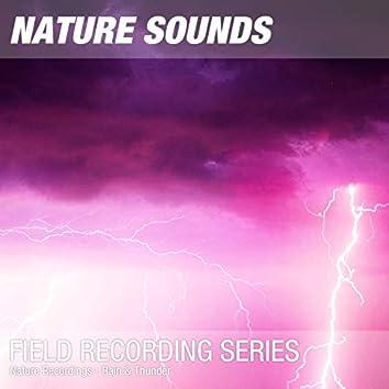 Nature Recordings - Rain & Thunder