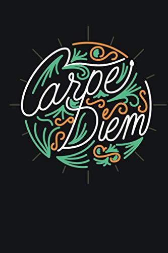 Carpe Diem: Bullet Journal, Notizbuch Tagebuch Schreibheft Notizblock - Geschenk-Idee für Schüler, Studenten (15,2 x 22.9 cm, A5, 120 Seiten dotted ... und notieren auch ideal als To do List