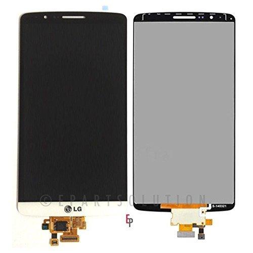 NovaMass LCD Display Touch Screen Digitizer full Assembly for LG G3 D850 D851 D855 VS985 LS990 White - US Nova LLC Manufacturing