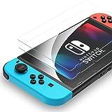 「2枚入り」 Syncwire Nintendo Switch 保護フィルム 【 日本旭硝子製 】 スイッチ 保護フィルム硬度9H 指紋防止 高透過率 抗衝撃 貼りやすい