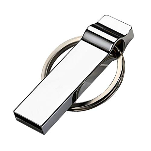 JIE USB Flash Drive High-Speed Data Storage Thumb Stick Store Movies Picture Silver 4GB