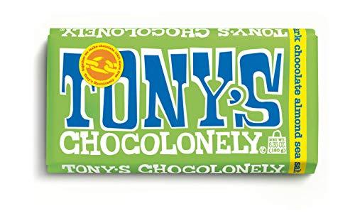 image of Tony's Chocolonely Almonds Sea Salt Dark Chocolate