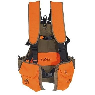Browning Bird'n Lite Strap Vest, Khaki/Blaze, Medium/Large