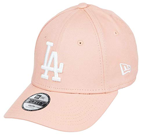New Era Los Angeles Dodgers 9forty Adjustable Kids Cap League Essential Rose/White - Youth
