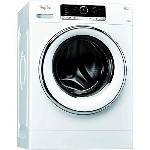Lave linge Hublot Whirlpool FSCR10427 - Lave linge Frontal - Pose libre - capacité : 10 Kg - Vitesse d'essorage maxi 1400 tr/min - Classe A+++ -20%
