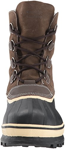 Northside Men's 910826M Back Country Waterproof Padded Sherpa Collar Pack Boot,Brown,10 M US