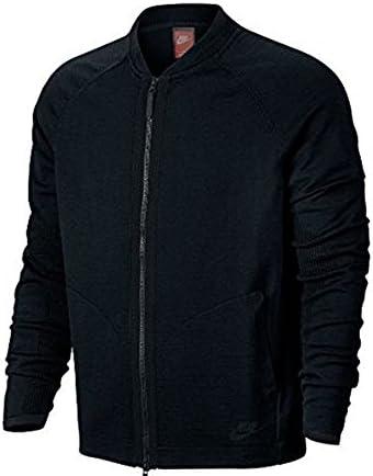 Nike Sportswear Tech Knit Black Mens Bomber Jacket Size M product image