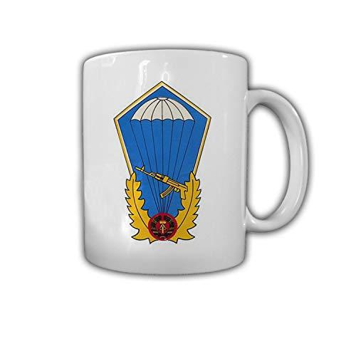 Tasse Fallschirmsprungabzeichen NVA Fallschirmjäger DDR Orden Luftsturm #30450