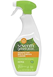 Seventh Generation Disinfecting Multi-Surface Cleaner, Lemongrass Citrus, 26 oz (Packaging May Vary)