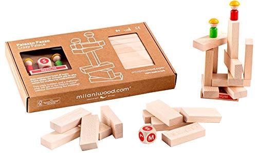 Milaniwood mwd-ppz–Spiel in Holz Palazzo Crazy