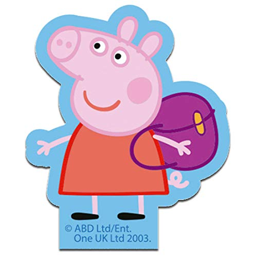 Parches - Peppa Pig mochila - colorido - 8,3 x 7,0 cm - Entertainment One © termoadhesivos bordados aplique para ropa