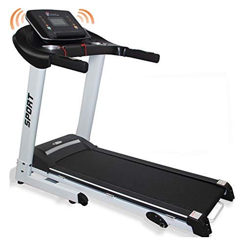 CENTURFIT Caminadora Eléctrica 2.75 HP Aparato de Ejercicio Walk Cardio Gym Gimnasio Casa Bluetooth Plegable Portátil Pantalla Led Velocidad Variable de 1 a 14.8 km/h