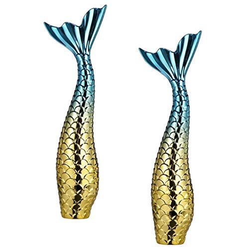 FRCOLOR 2 Piezas Delineador de Ojos Tubos Vacíos Sirena Col