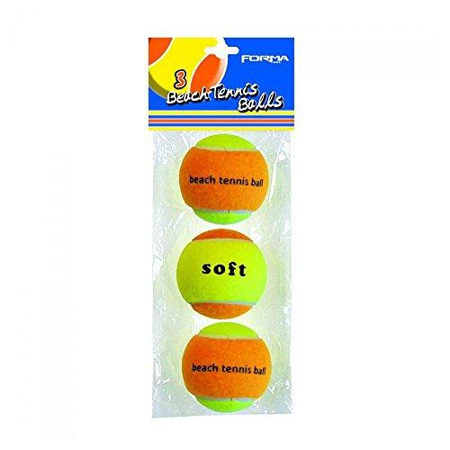 Forma tennisballen, meerkleurig, 3 stuks, ORM089