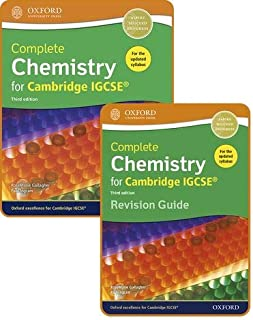 Complete Chemistry for Cambridge IGCSE®: Student Book & Revision Guide Pack Third Edition